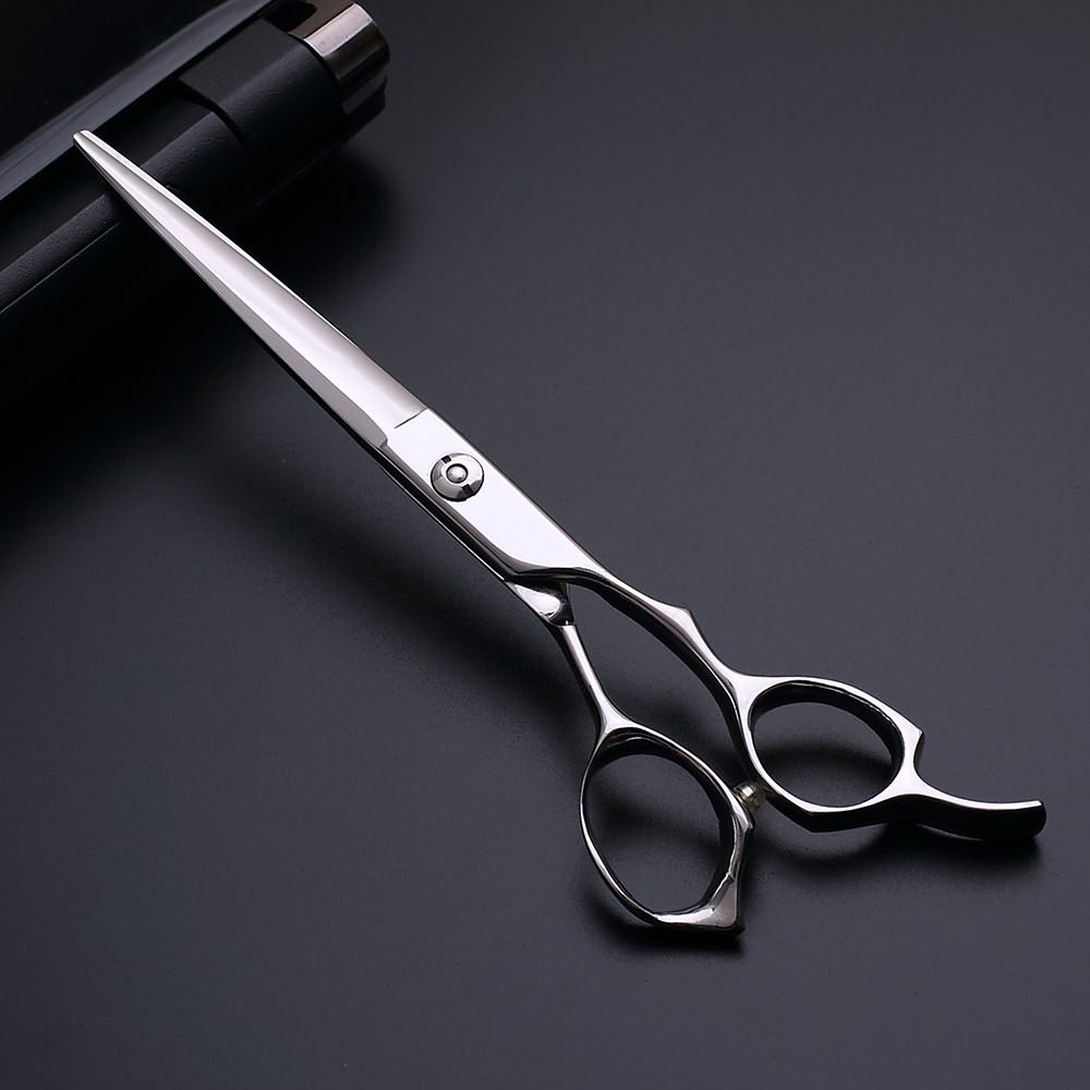 Sword blade design beauty salon tools 7.0 inch hair scissors