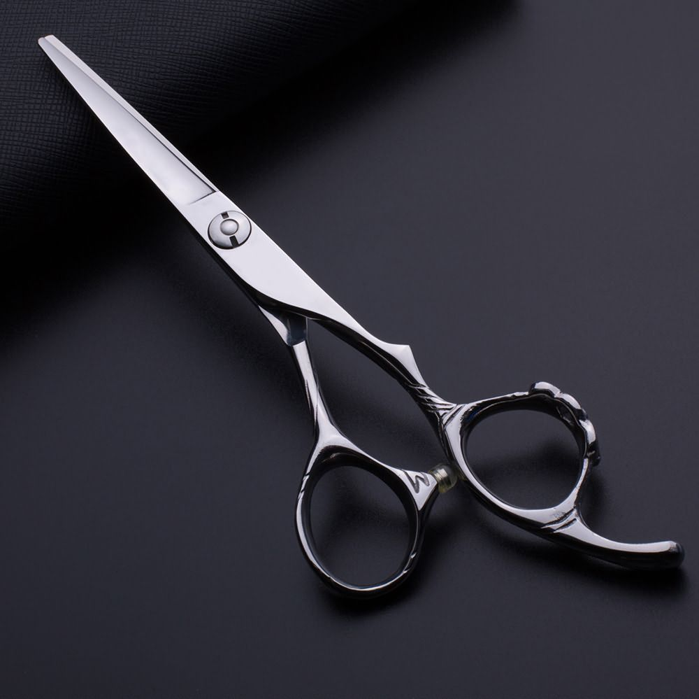 100% Pure Handmade Flower Handle Hair Cutting Scissors