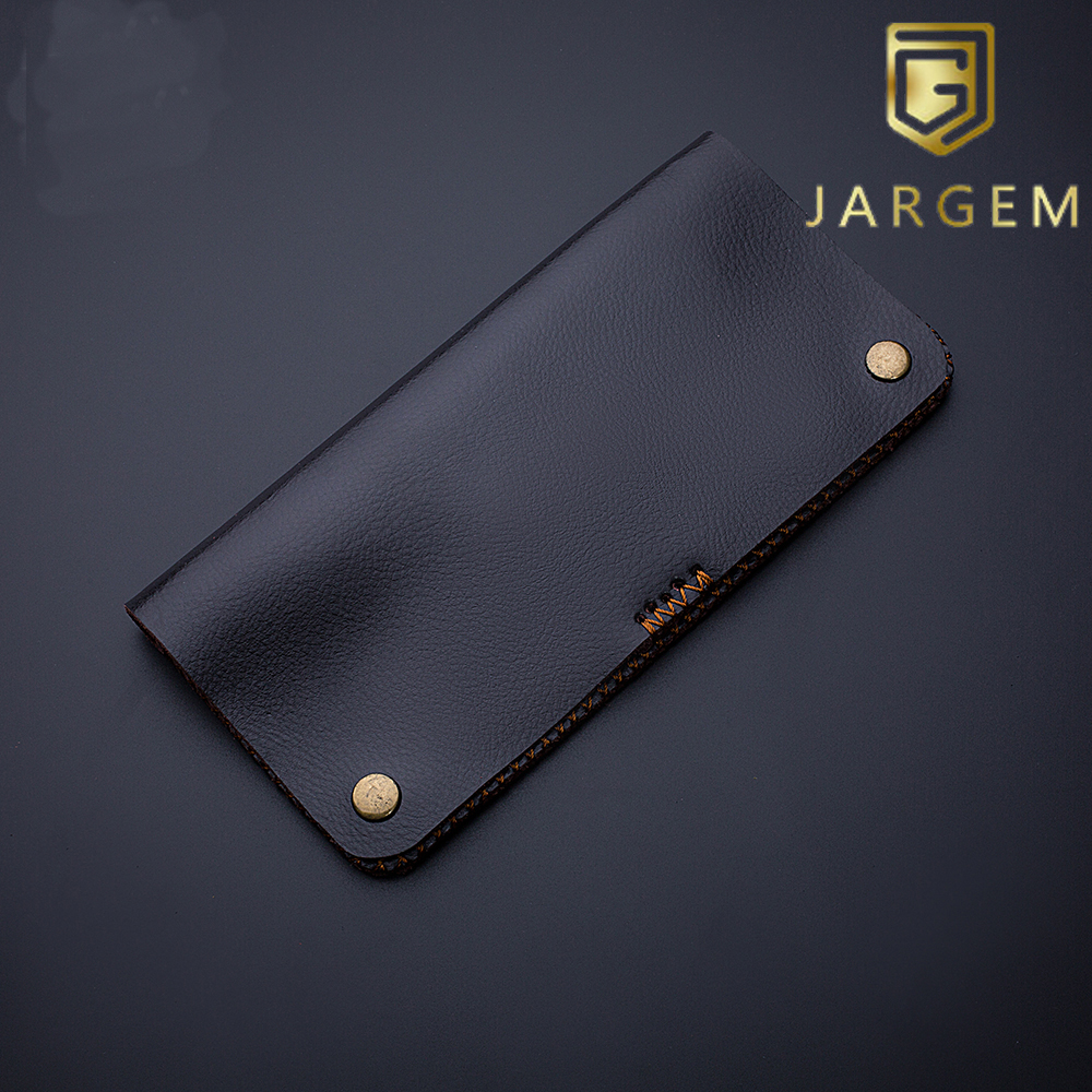 Fashion design leather case for 2 pieces hair scissors